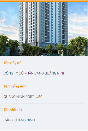 Quang Ninh Port Joint Stock Company